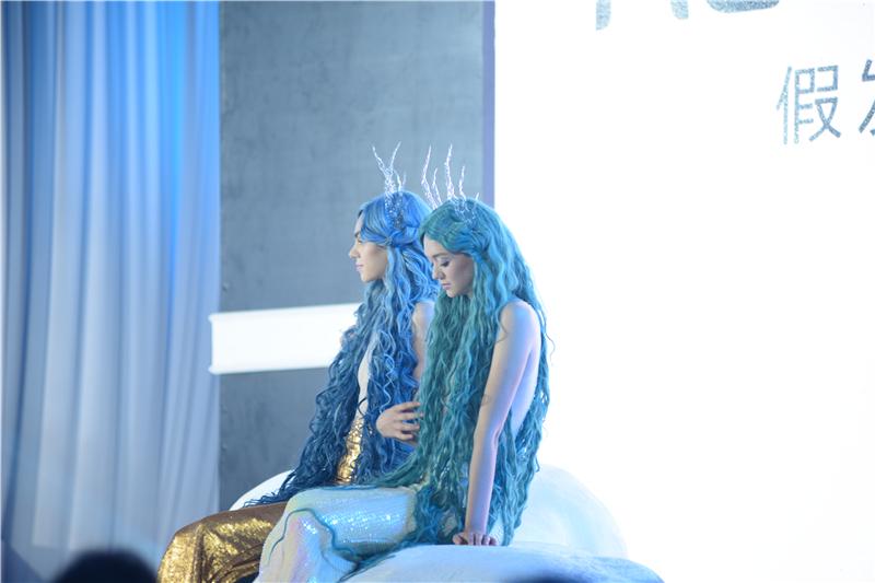 2015中国发博会—瑞贝卡真发·童话时尚假发秀